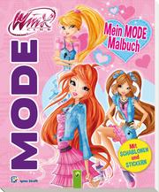 Winx - Mein Mode-Malbuch (rosa)