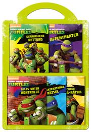 Teenage Mutant Ninja Turtles - 5 Minibücher-Set mit Tragegriff