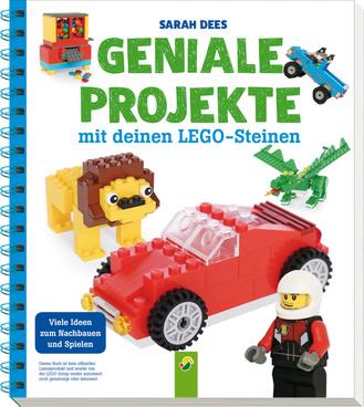 """Cover des Buches """"Geniale Projekte mit deinen LEGO-Steinen"""""""