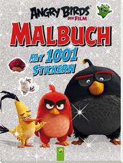 Angry Birds - Der Film - Malbuch mit 1001 Stickern