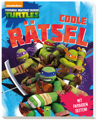 "Cover des Buches ""Teenage Mutant Ninja Turtles - Coole Rätsel"""