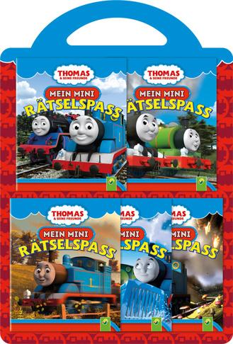 thomas  seine freunde - 5 minibücher-set mit tragegriff - schwager  steinlein verlag gmbh