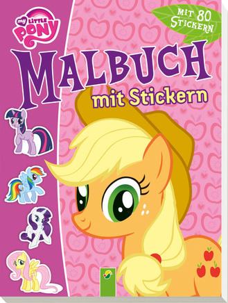 """Cover des Buches """"My little Pony - Malbuch mit Stickern"""""""