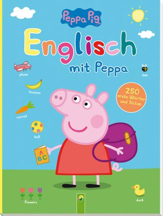 """Cover des Buches """"Englisch mit Peppa Pig"""""""