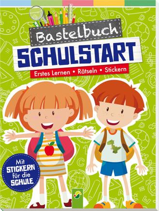 """Cover des Buches """"Bastelbuch Schulstart"""""""