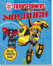 Transformers Robots in Disguise - Malbuch