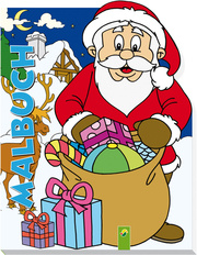 Konturenmalbuch Weihnachten