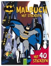 Batman - Malbuch mit Stickern