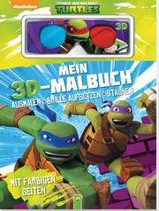 Teenage Mutant Ninja - MeinTurtles 3D-Malbuch