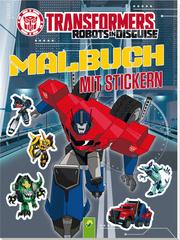 Transformers - Malbuch mit Stickern