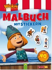Wickie und die starken Männer - Malbuch mit Stickern