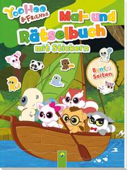 YooHoo & Friends - Mal- und Rätselbuch mit Stickern - Band 1