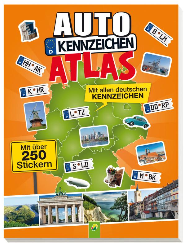 autokennzeichen atlas schwager steinlein verlag gmbh. Black Bedroom Furniture Sets. Home Design Ideas
