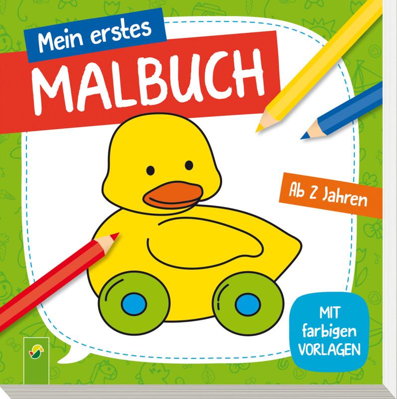 Mein erstes Malbuch ab 2 Jahren (Ente) - Schwager & Steinlein Verlag ...
